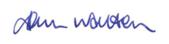 John Walton Signature